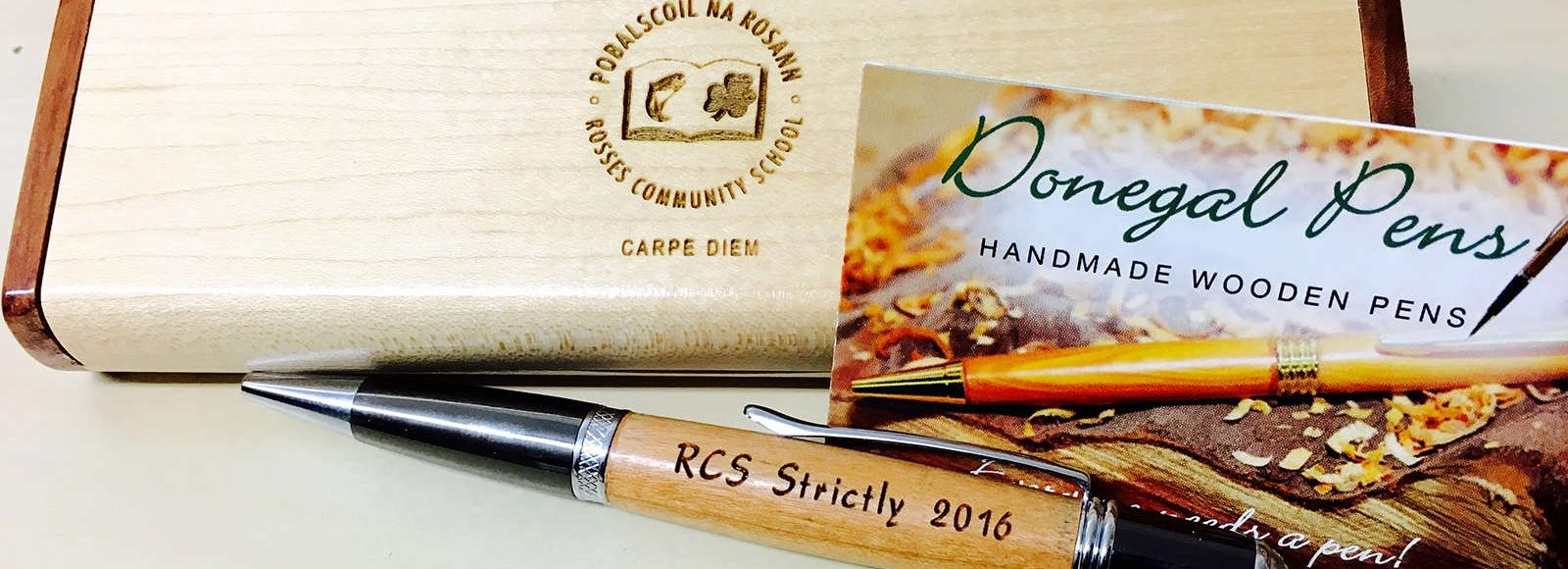 Handmade Wooden Pens Engraving